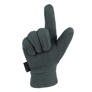 Guantes de lana unisex Luz de invierno térmica dedo lleno de guante al aire libre Ciclismo Montar Correr guante guantes de esquí