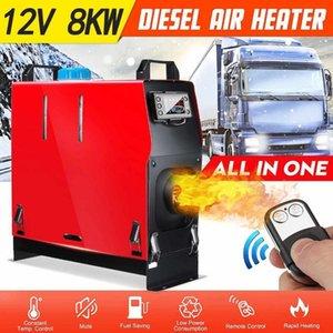 Autoheizung All in One Air Diesel-Heizheizung 8kw Einstellbar Ein Loch für Webasto-Lkw-Motorhäuser Boats Bus LCD-Schlüsselschalter1