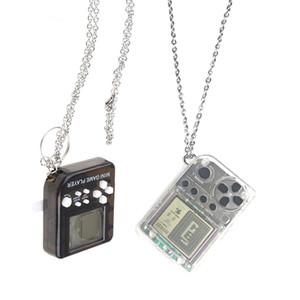 Handheld Game Console Pendant Retro FC Classic Games Tetris Pendant Necklace