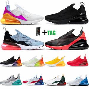 Stokta 2021 Vapourmax 270 yılında Womens ABD Beyaz Mavi Platin Jade Üniversitesi Kırmızı Bred Ayakkabı Koşu Üçlü Siyah Sneakers Koşu Tepki