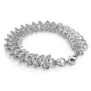 Wholesale fashion 100% Original 925 Sterling Silver Original Charm bracelet for women S925 Logo charm ladies jewelry gift