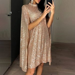 Femme Saisine Party Midi Robe Midi Manches Manches Spring Robes Femme Summer Loose Fashion Fashion Mesdames Vêtements Vestidos T200623
