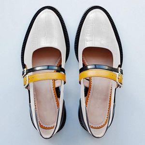 SWYIVY Kadın Sandalet Yaz 2019 Vintage Toka Kayış Siyah Bayanlar Rahat Ayakkabılar Blok Topuk Ayakkabı Kadın Sandalet Artı Boyutu 34-43