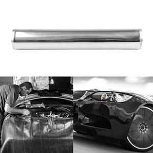 """3"""" 76 millimetri di alluminio lucidato Intercooler Tubo Kit Nero Fascetta universale"""