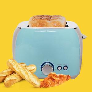 Two-slot pequeno-almoço máquina elétrica Multifunction Frying Pan Mini Panela Household Pão Sandwich Forno Desidratadores