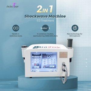 SHOKWAVE Terapi Enstrüman Şok Dalga Makinesi ED Ağrı Kazanma Cihazı için Fizyoterapi Ekipmanları Şok Dalga Güzellik Makinesi