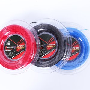 Hot Sale 1 Reel ZARSIA High peformance HEXASPIN TWIST Tennis strings 1.23mm tennis racket string 200M big banger