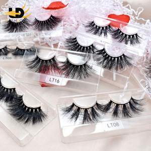 Best Selling Super Fluffy Eyelashes 5D 25mm Mink Lashes Wholesale