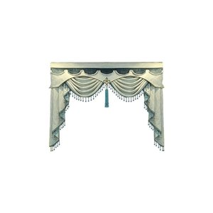 Court European style  living room bedroom high-grade Valance use Decorations Home for Living Room Wedding Stage