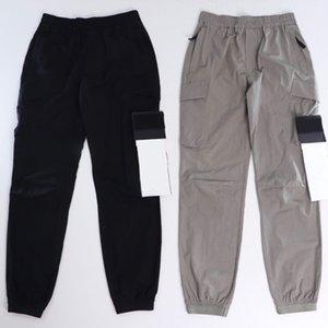 Mens Pants Casual Sweatpants Breathable Summer Pants Fashion Streetwear Letter Patch Mens Joggers 2 Colors SIZE M-XXL