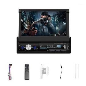 Audio de audio de 7 pulgadas Radio estéreo de 7 pulgadas 1 DIN MP5 Player con pantalla plegable PRENSA DE PRENSA AM / FM Receptor Bluetooth GPS AUX USB SD SWC + A Backup CA1