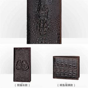 McIF wallet Women Wallet Price High Quality Genuine Leather dener man JINBAOLAI Wallets Female Zipper Fashion Dollar Design