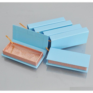 wholesale paper false eyelash packaging box lash boxes packaging custom logo label faux cils mink eyelashes rectangle paper case bulk