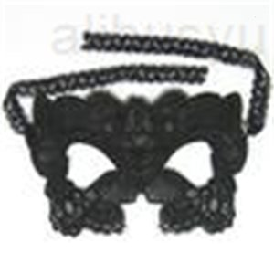 Encaje Negro 6 Sexy Design Party Masquerade Mask Masks Máscaras de juguete para Damas Halloween Dance Party SD