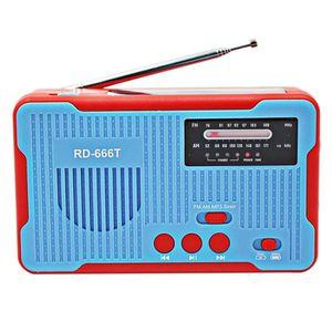 Akıllı Telefon Şarj için LED'li Acil Radyo El Crank Radio 2300mAh Güneş AM FM NOAA Hava