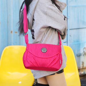Handbag Women Messenger Bags for Women Top-handle Tote Waterproof Nylon Ladies Shoulder Crossbody Bags sac a main bolsa feminina 201014