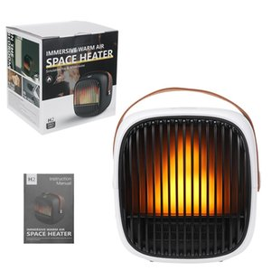 Space Heater Personal Mini Electric Desk Heater Fan Protable Personal Space Warmer For Indoor Heating Camping#g30