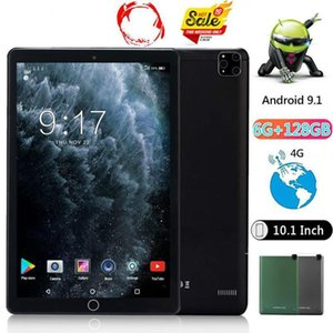 Tablet PC 10.1 Inch Dual Sim 4G Smartphone WIFI Android 9.0 Octa Core 6G +128GB Camera Phone Pad PC1