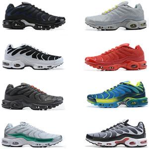 2020 Homens novos Nike Air Max Tn Plus SE além de tênis de corrida tripla Hiper azul Supernova Brushstroke Camo homens formadores mulheres tênis esportivos