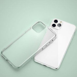 For-Iphone12 Mobile Transparent TPU Soft Shell For -Iphone12 PRO Max Anti-drop Case Phone Accessorie