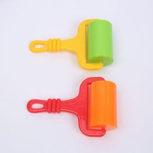 ABS Plastic Rullo Bambini Strumento per bambini FAI DA TE Craft Plastine Clay Kid Arts Toys Maniglia Slingshot Trolley Accessori ruota Nuovo arrivo 1 6HSA G2