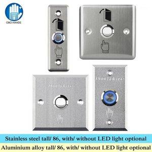 Obo Mains Touche Touche Touche Touche en acier inoxydable Interrupteur d'acier inoxydable Alliage de relâche avec LED Light 86 pour le système de verrouillage de contrôle d'accès à la maison1