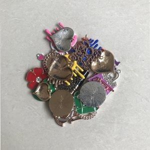 MULTISTYLE CHARMES DE DIY coloré avec lettre Multicolore DIY Bijoux Accessoires Composants pour le bracelet Collier Haute qualité