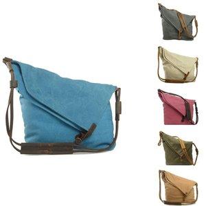 Bolso de las mujeres de lona, bolso de hombro, Mensajero Retro Art Bag Bolsa de lona