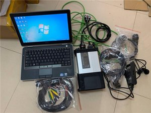 Super MB Star C5 SD Connect diagnostic tool with newest software 2020.09 ssd with E6420 laptop multi-languages