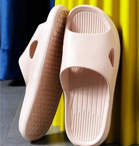 Women Sandals Summer Fashion Solid Buckle Flip Flops Sandals Women Shoes Beach Casual Ladies