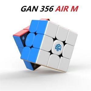 Gan 356 Air M Magnetic 3x3x3 Magic Cube GAN356 AIR M Speed Puzzle 큐브 Gan Cube 3x3x3 Cubo Magico Toys 201224