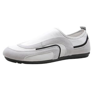 Kancoold Men Vulcanize Scarpe Casual Flock Slip-on Autumn Platform Shoes Shoes Shoes Comfortable Light Big Size Men Shoip 71223