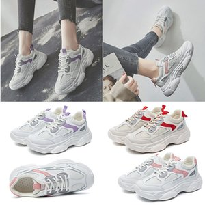 2020 designer sneakers fashion triple white pink purple red adorn comfortable breathable trainer sport women running shoes size 35-40
