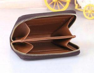 Zippy Wallet الطريقة العمودي الأكثر أنيقة تحمل حول بطاقات المال والعملات تصميم الشهير الرجال الجلود محفظة بطاقة حامل M874512