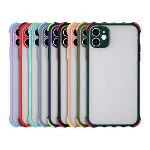 Armor Shockproof Matte Hard Pc Back Case for iPhone 12 11 Pro Max XR X XS MAX 7 8 Plus 6S Samsung S20