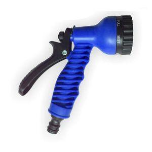 Garden Hoses Portable Adjustable High Pressure Water Spray Lawn Sprinkler Car Wash Gun Hose Nozzles Gun1