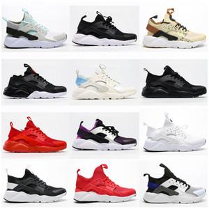 Huarache 4.0 Klasik Üçlü Beyaz Siyah Kırmızı Açık Ayakkabı Erkek Kadın Huaraches Spor Sneaker Eğitmenler Ayakkabı