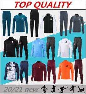 2020 2021 Real Madrid Soccer Training Jacket Jacket 20/21 Camiseta de Futbol Benzema Modric Jogging Football Tracksuit