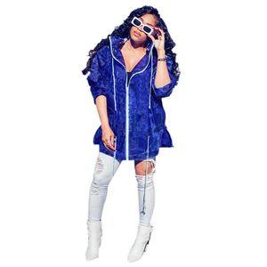 2020 Autumn Winter Zippers Hooded Raincoat Travel Waterproof Riding Cloth Rain Coat Women Poncho Long Rainwear Drawstring Jacket