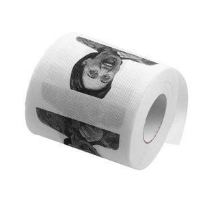 Wholesale- 1Pc Hillary Clinton Toilet Paper Tissue Roll Funny Prank Joke Gift 2Ply 240Sheetju0546