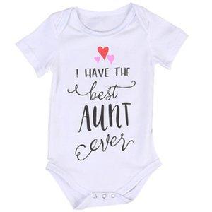 Canis 2021 New Newborn Toddler Baby Boys Girls Abbigliamento Best zia Body Cotton Body Summer Baby Vestiti