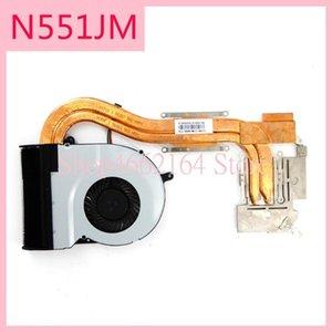 N551JM Laptop CPU-Lüfter-Kühlkörper für ASUS N551J G551 G551JM JW G551JX N551JK N551JW Laptop Cooling heatsinkFan Kühler