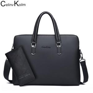Резрантатативный портфель 14-дюймовый ноутбук для водных туров Celinv с организатором на плечо мужчины сумка Koilm бизнес-портферы мужские сумки Mnxov