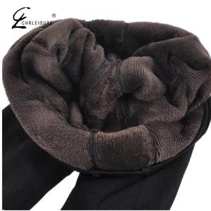 Шелизуреные зимние теплые женщины высокие талися бедра бедра цветки леггинги модные эффекты большие плечевые легинги S-XL 8 цветов