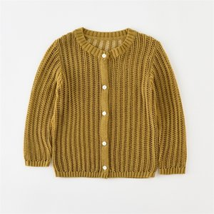 Babyinstar Boutique Ropa para niños Ropa de Girls Outerwear Hollow Sweather Girls Keaters Sweaters Pullovers 201109