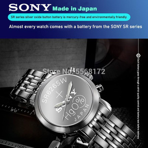 جديد Sony Original 5PCS 1.55V 377 376 SR626SW 626 SR626 و 377 SR626 V377 AG4 ووتش بطارية زر خلية عملة للألعاب صنع في اليابان WMTGHS BDESYBAG