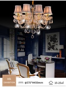 Crystal glass chandelier light living room dining room bedroom crystal chandelier light  simple new personality lighting chandeliers