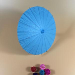 Bricolaje paraguas en blanco papel de aceite artesanía pintura de moda paraguas de moda niños kindergarten pintado a mano color manual nueva llegada 6 5bs4 m2