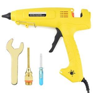300W Hot Melt Glue Tool Smart Temperature Control Copper Nozzle Heater Heating 220V Wax 11Mm Glue Stick Eu Plug