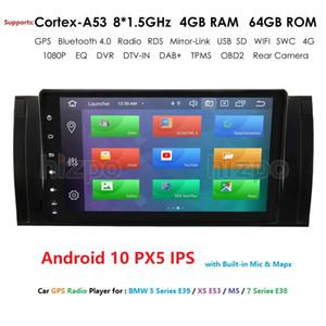 4 / 8Core DSP IPS Android10 Car NODVD Player BMW X5 E39 M5 E53 Radio GPS enregistreur cassette stéréo autoradio DAB 4GWIFI télévision numérique